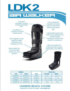 ~ Like New Air Walker Boot ~