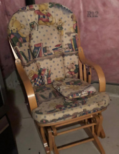 ***Wooden Rocking Chair $15 (Price Reduced Again!!!)***