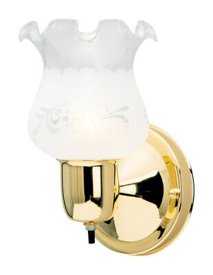 Westinghouse  Polished Brass  1 lights Wall Sconce