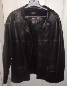 Men's Repp Genuine Leather Jacket XXX XXXL 3X 3XL