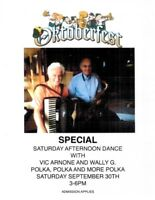 Celebrate OKTOBERFEST with VIC ARNONE & WALLY G.