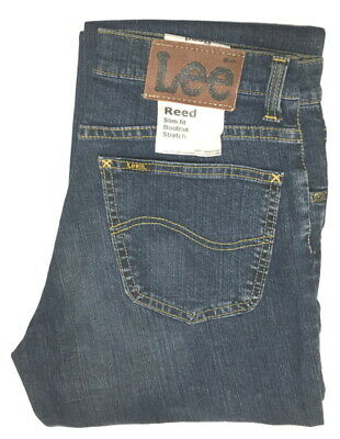 LEE Reed W 29 L 34 Bootcut Stretch Jeanshose Darkstone L7469459 B-Ware
