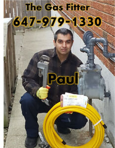 Gas Hookup $80.Water Heater,Furnace,Venting:License,Quality Work