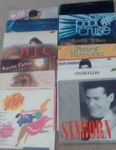 Record Player Albums LPs