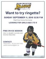 Come Try Ringette FREE - Dorchester - Fastest Game on Ice!