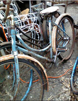 Great old vintage glider bicycles