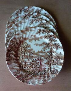 Vintage English Dinner Plates