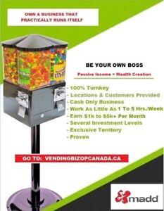 ★ ★ ★ Bulk Vending = BIg Profit | Vancouver