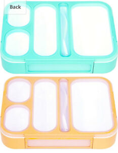 BRAND NEW 5 Compartment Divided Bento Box Bento Lunch box