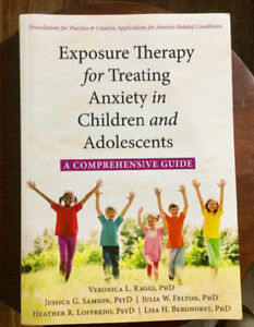 Seven Child and Youth Counselling Books (Psychology / Therapy)