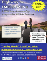 Get on the Highway to Employment with EEC in March