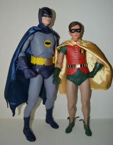 Neca 1966 Batman and Robin Action Figures