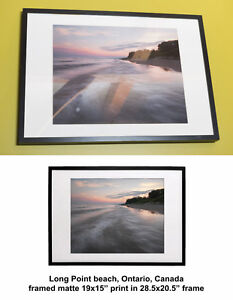 Framed Ontario nature artistic photo print fine art photography