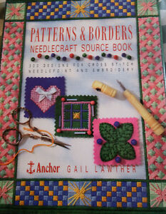Patterns and Borders Needlecraft Source Book by Gail Lawther
