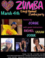 HEART EMOJI Zumba Themed Party