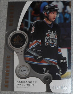 Alex Ovechkin , 2005-06 , SP Game Used , Rookie