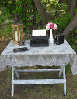 Vintage & Rustic Decor for your Special Day.