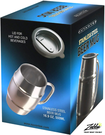 Nuvantee Beer Mug - Premium Stainless Steel