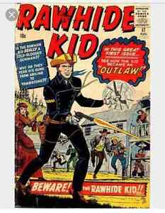 Looking For Western Comics