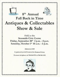8th Annual Fall Back In Time Antique & Collectable Sale