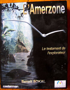 Logiciel de jeu  Amerzone pour PC Windows 95 pour collectionneur