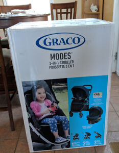 Graco  click connect 3in1 travel system