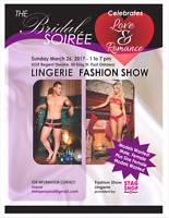 Models wanted!! - TODAY auditions - Lingerie/Bridal Fashion Show