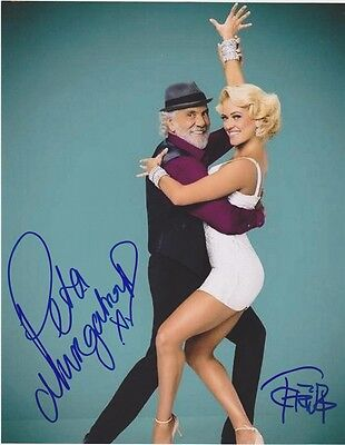 Tommy Chong   Peta Murgatroyd Dancing With The Stars  Autographed 8X10 Photo