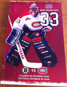 MONTREAL CANADIENS 08-09 SEASON (41) LINE UP CARDS