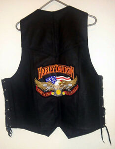 Harley-Davidson Shirts and Leather Vest - new