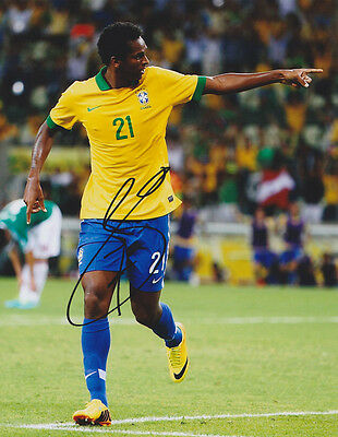 Jo Joao Silva Brazil World Cup Wc 2014 Signed Autograph 8X10 Photo Coa  1