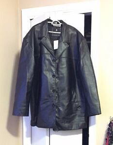 Leather car coat for sale- NEW PRICE