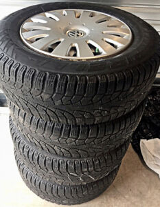 Winter Tire & Wheel Package VW Tiguan $240