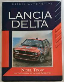 Lancia Delta - Nigel Trow (Osprey, 1993). Car book.