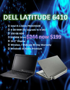 Summer Laptop Sale All Brands - Dell / Lenovo / HP - Only $199!