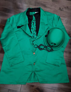 The Riddler costume. Mens size XL. $25.00.