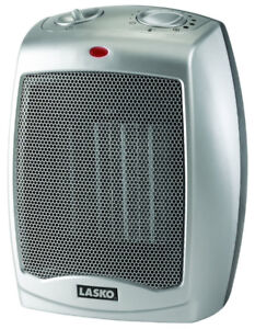 TPS Lasko 754200 Ceramic Heater with Adjustable Thermostat