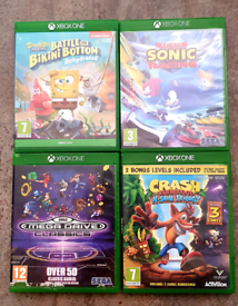 4 x XBOX ONE GAMES BUNDLE!!!