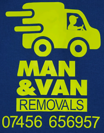 T&T MAN WITH VAN HOUSE MOVE