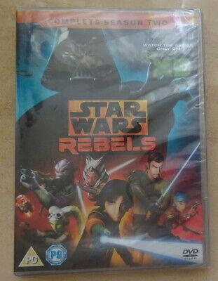 Star Wars: Rebels - Season 2 - DVD - NEW/SEALED - DISC LOOSE INSIDE