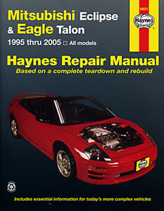 Haynes Mitsubishi Eclipse and Eagle Talon (95 - 01) Manual