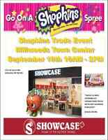 SHOPKINS TRADE EVENT MILLWOODS TOWN CENTER