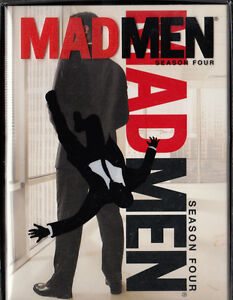 Mad Men: Season Four 4 (DVD, 2011, 4-Disc Set, Widescreen) Condi Peterborough Peterborough Area image 1