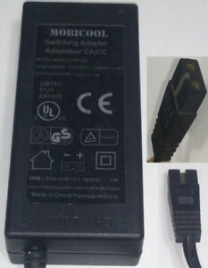 MOBICOOL AC/DC POWER ADAPTER 12V 5A 2-PRONG PLUG | MODEL: Y40 05
