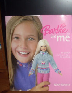 Barbie doll and Me - 45 matching KNIT designs by Nicky Epstein
