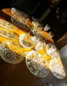 Various Glass and Crystal Dishes, Appliances
