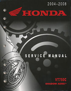 Honda Shadow Service Manual