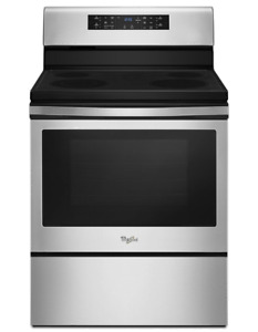 """Convection Range in stainless steel (5.3 cu. ft. Electric 30"""""""