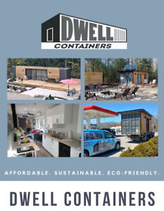Shipping Container Cottage for sale