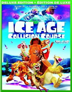 Ice Age 5 Collision Course 3D Blu Ray Combo Set NEW